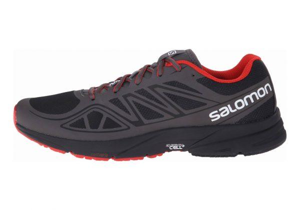 Salomon Sonic Aero Black/Autobahn/Radiant Red