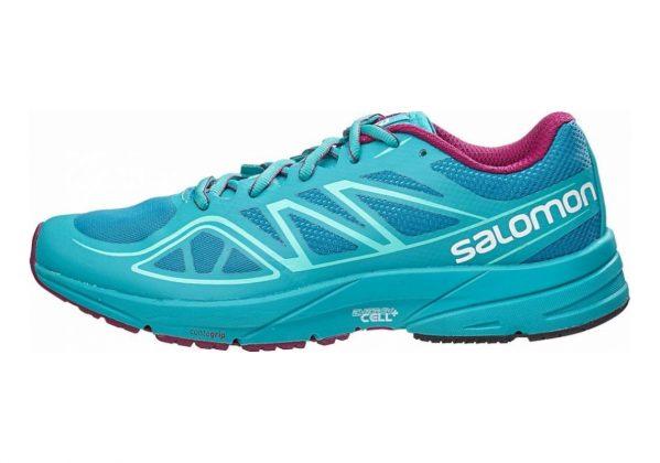 Salomon Sonic Aero Fog Blue/Teal Blue F/Mystic Purple
