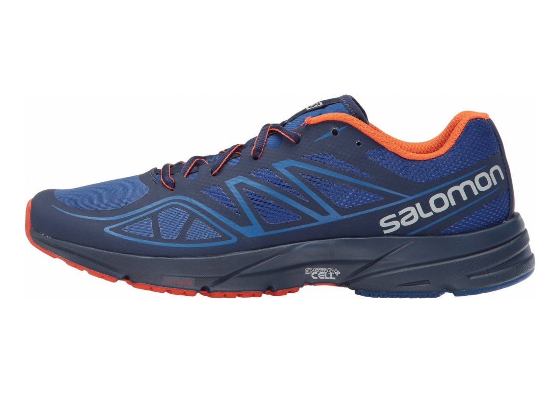 Salomon Sonic Aero Surf the Web/Blue Depths/Flame