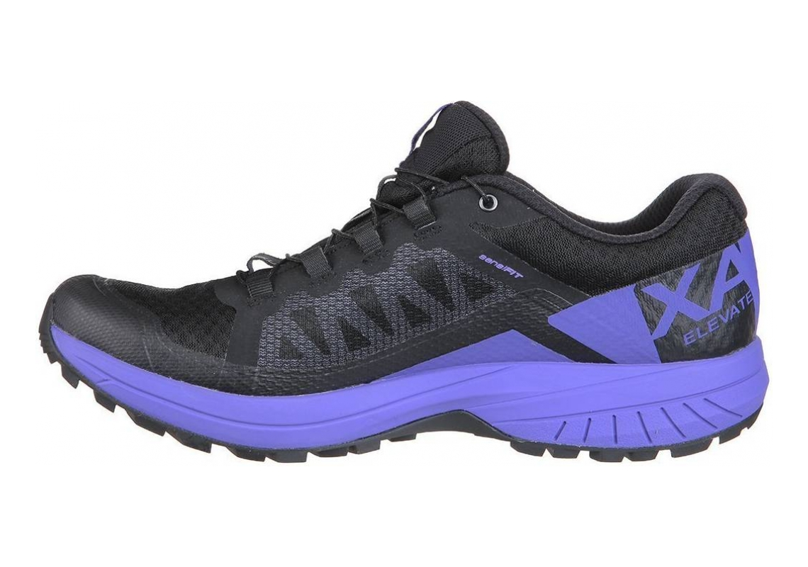 Salomon XA Elevate GTX Black (Black/Purple Opulence/Black 000)