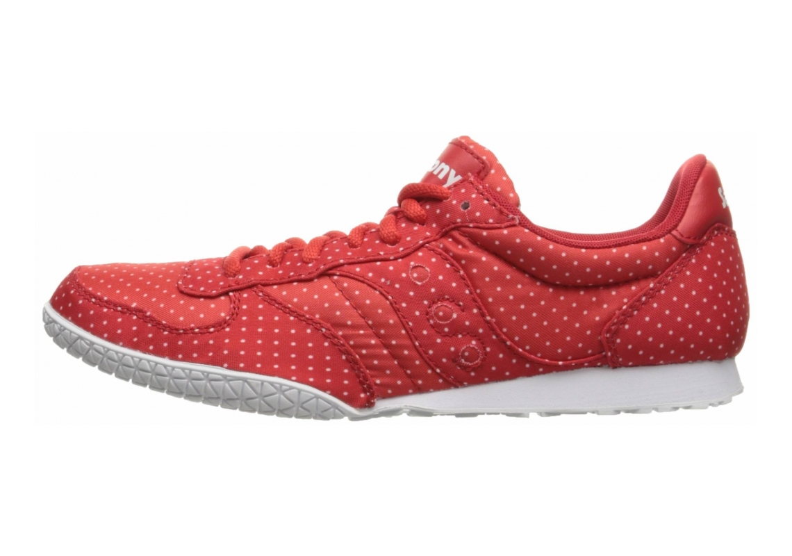 Saucony Bullet Dots Red