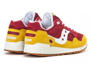 Saucony Shadow 5000 Red Yellow