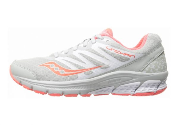 Saucony Linchpin Grey/Coral