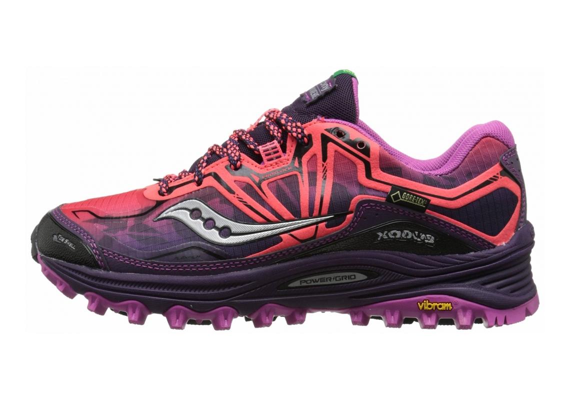 Saucony Xodus 6.0 GTX Coral/Purple