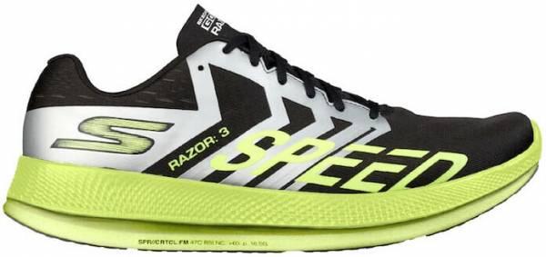 Skechers GOrun Razor 3 Hyper Black/Lime