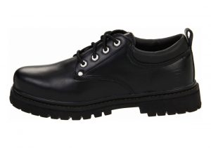 Skechers Alley Cats Black Smooth