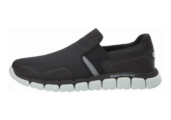 Skechers Relaxed Fit: Skech-Flex 2.0 Black/Gray