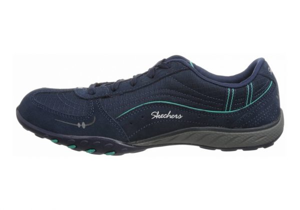 Skechers Relaxed Fit: Breathe Easy - Just Relax Blue (Aq)