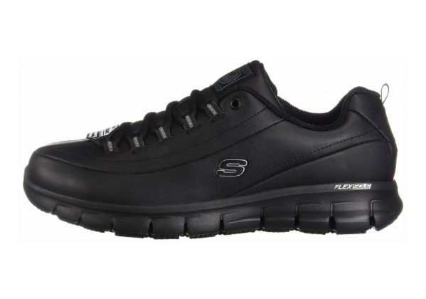 Skechers Work Relaxed Fit: Sure Track - Trickel Black