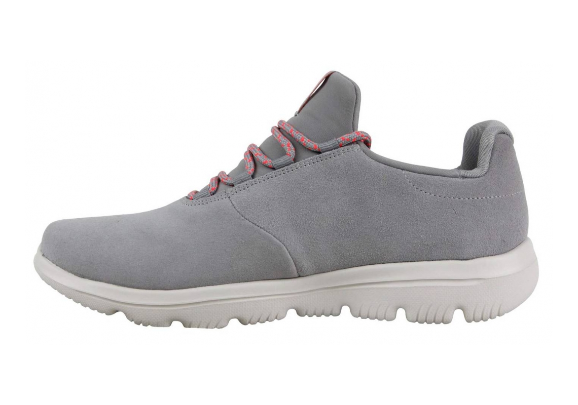 Skechers GOwalk Evolution Ultra - Granted Grey/Coral