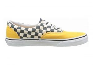 Vans 2-Tone Check Era Citrus/True White