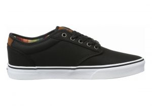 Vans Atwood Deluxe Black ((Waxed) Black)