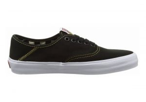 Vans Authentic Surf Schwarz (Black/Spruce Yellow)