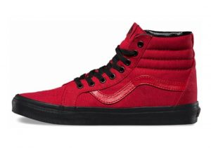 Vans Black Outsole SK8-Hi Reissue Red