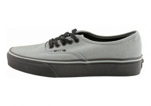 Vans Black Sole Authentic Grey