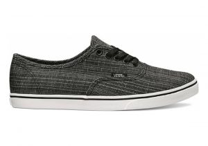 Vans Chambray Authentic Lo Pro black
