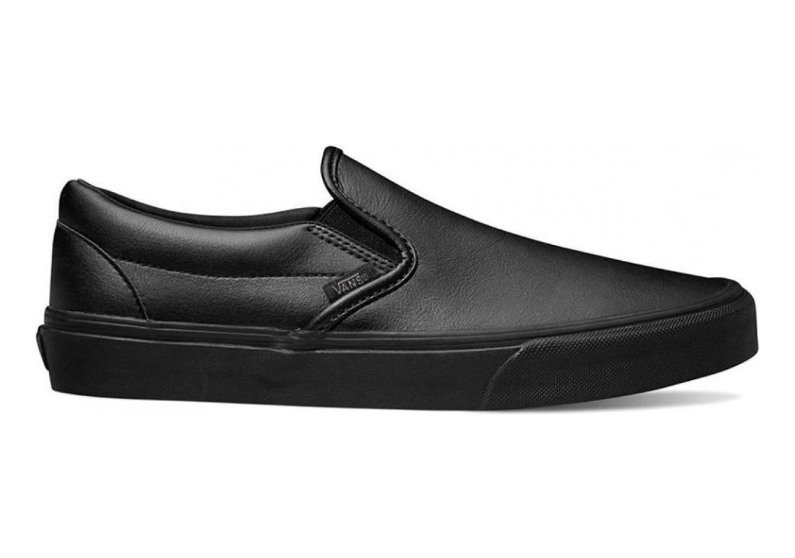Vans Classic Tumble Slip-On Black Monochrome