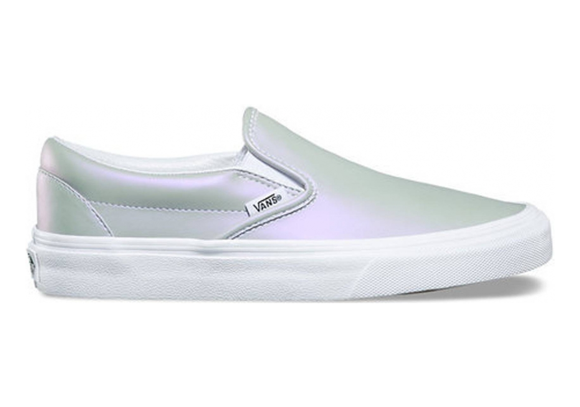 Vans Muted Metallic Slip-On Silver