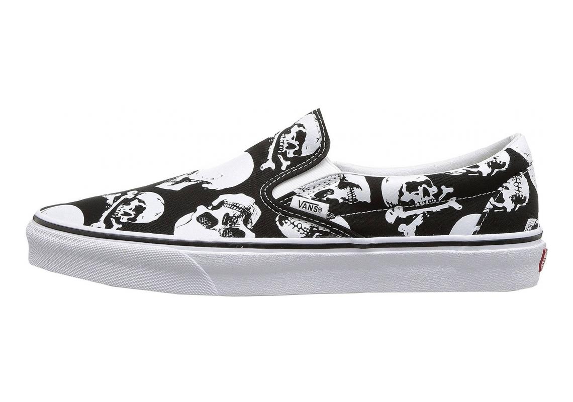 Vans Skulls Slip-On Black / White