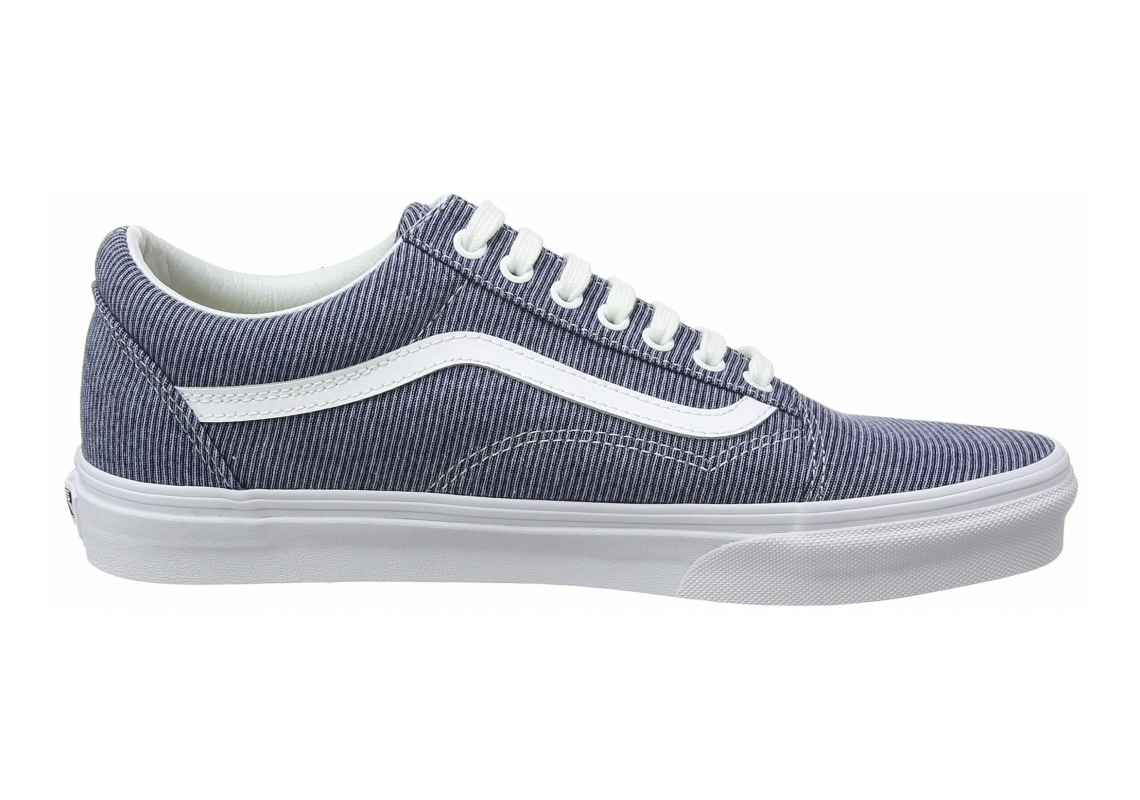 Vans Jersey Old Skool Blue ((Jersey) Blue/True White Q8u)