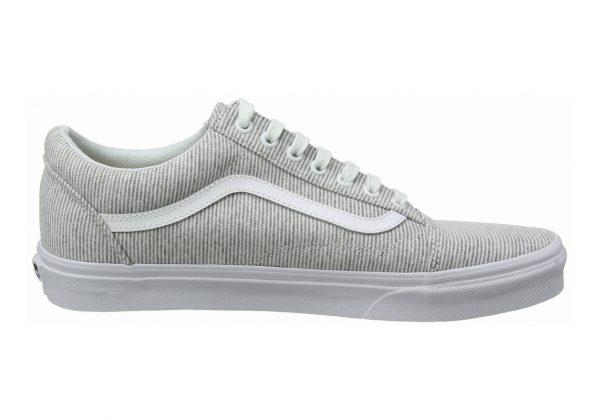Vans Jersey Old Skool Grey ((Jersey) Gray/True White I1f)