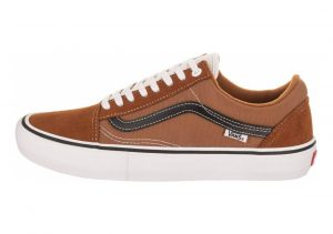 Vans Old Skool Pro Glazed Ginger- Black-white