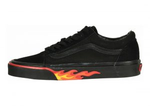 Vans Flame Wall Old Skool Black
