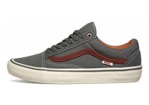 Vans Old Skool Pro gunmetal/burnt henna