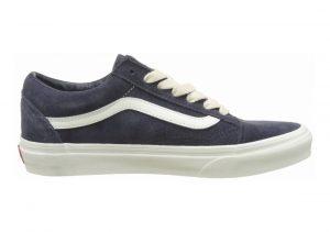 Vans Suede Old Skool Blue (Herringbone Lace/ Navy/Marshmallow)