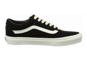 Vans Suede Old Skool Black (Herringbone Lace/ Black/Marshmallow)