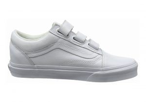 Vans Old Skool V Weiß (True Whitemono Leather)