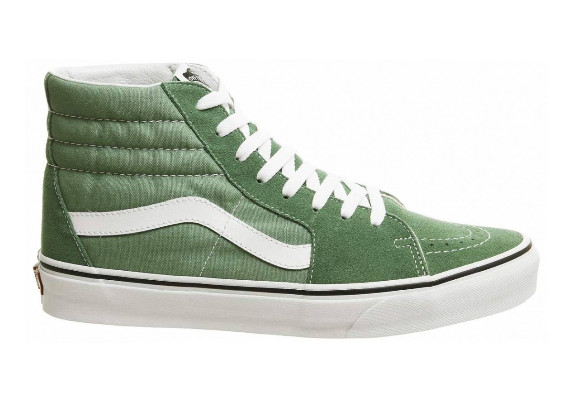 Vans SK8-Hi Deep Grass True White