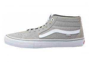 Vans SK8-Mid Pro Drizzle Grey White