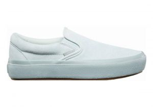 Vans Suede Outsole Slip-On Platform blue flower/metal