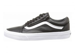 Vans Leather Old Skool Zip Black