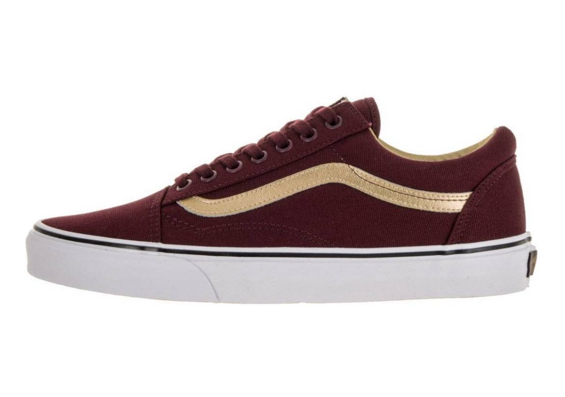 Vans 50th Old Skool Bordeaux/Oro