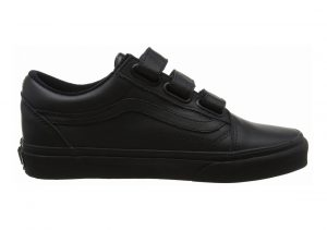 Vans Old Skool V Black(black(mono Leather))