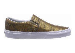 Vans Metallic Slip-On Gold