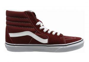 Vans SK8-Hi Red (Madder Brown/True White)