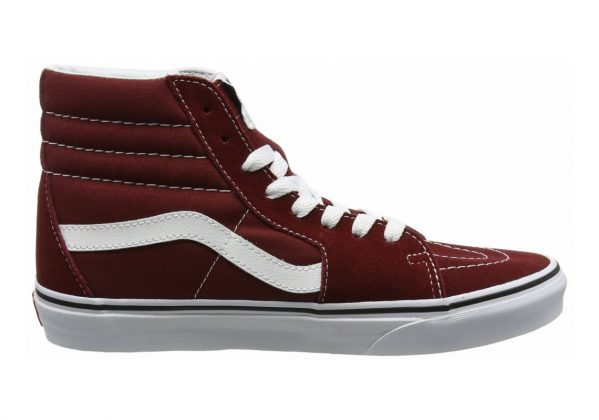 Vans SK8-Hi Red (Madder Brown/True White)