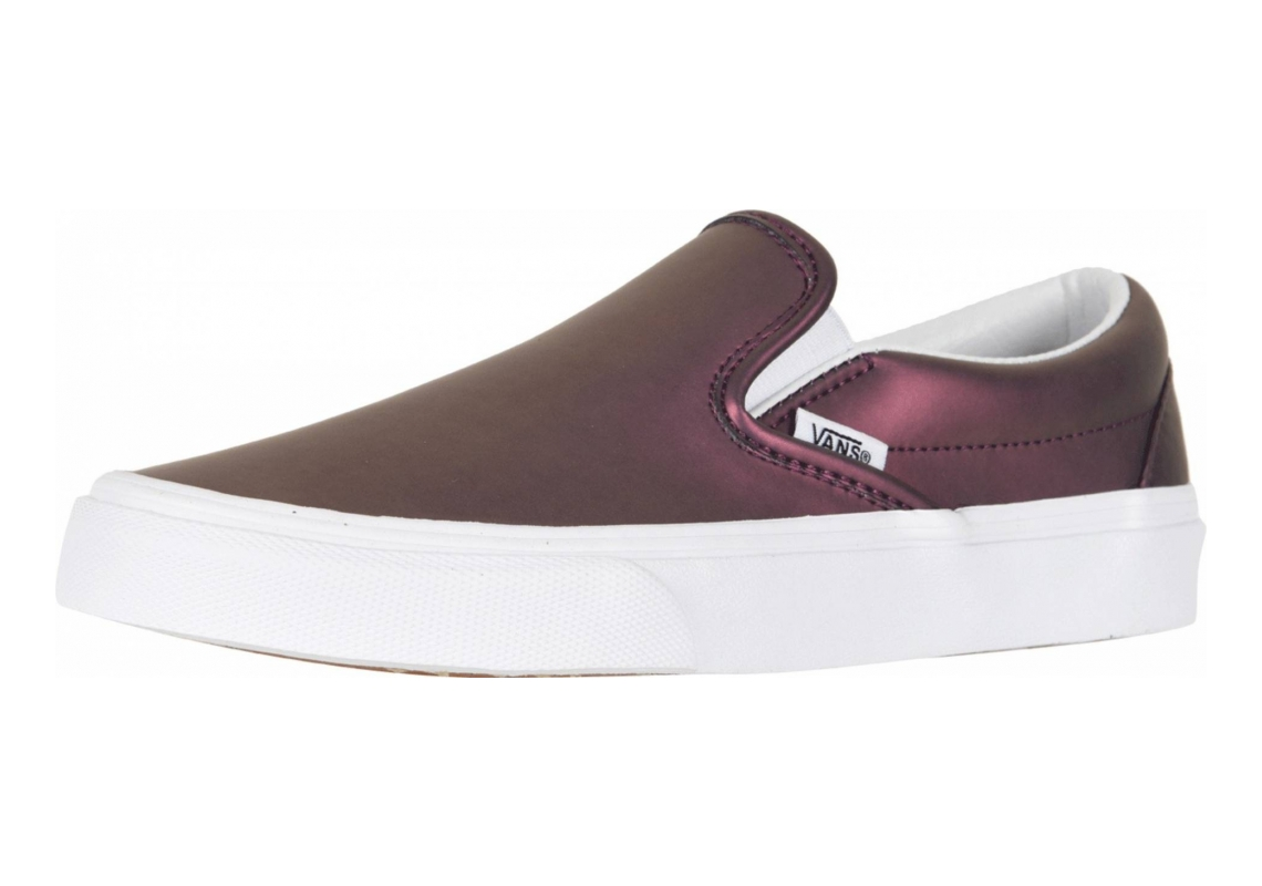 Vans Muted Metallic Slip-On Red/Gold