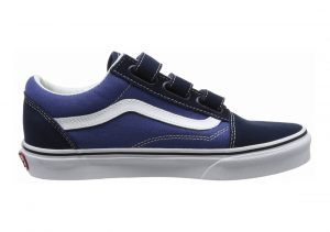 Vans Old Skool V Blue(dress Blues/True Navy(suede/Canvas))