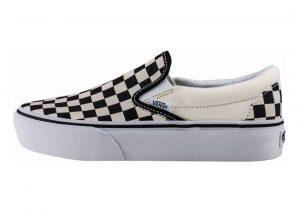 Vans Slip-On Platform Black/White