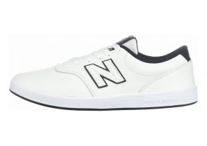 New Balance 424 White with Black