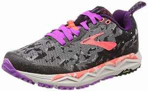 Brooks Caldera 3 Black Purple Coral