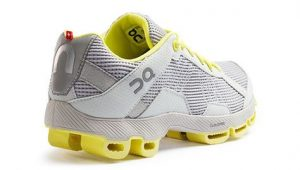 On Cloudster Grey/Yellow