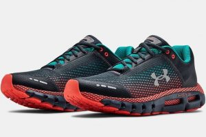 Under Armour Hovr Infinite Grey Red