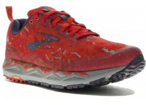 Brooks Caldera 3 Red Orange Grey