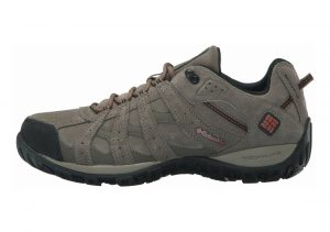 Columbia Redmond Leather Omni-Tech Beige (Mud/ Sanguine)