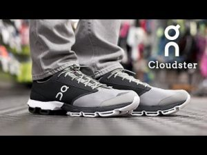 On Cloudster Black/White